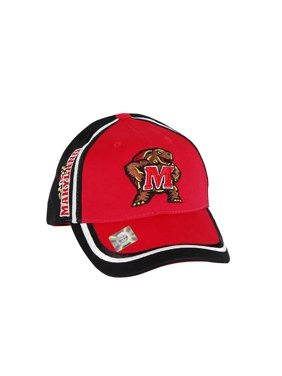 d2980ee0477 Product Image Capsmith Men s Maryland Terrapins Embroidered Cap One Size Red