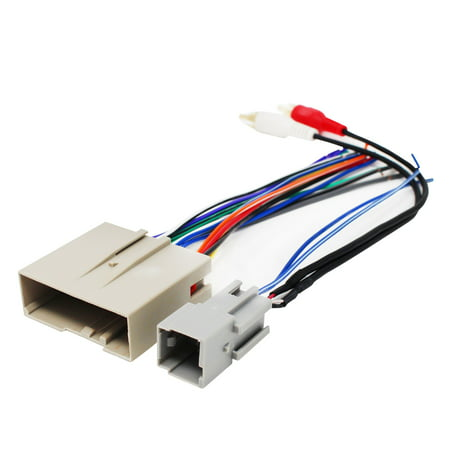 Replacement Radio Wiring Harness for 2006 Lincoln Town Car Signature Limited Sedan 4-Door 4.6L - Car Stereo Connector
