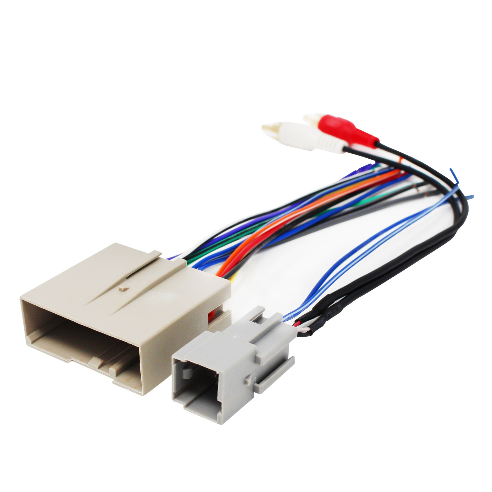 20 Pin Stereo Harness Wiring Diagram Dual Wire Center Pioneer Avic D3 Ford Rh Walmart Com Toyota