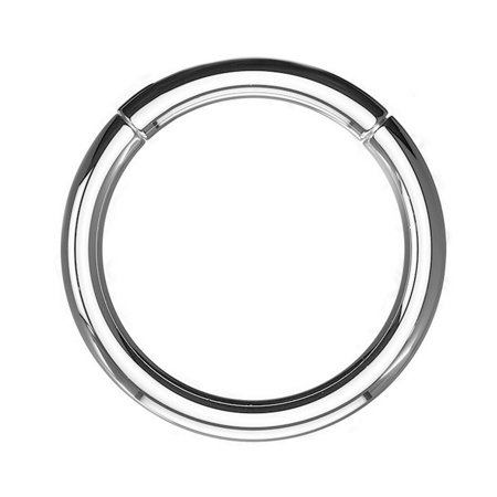 Hinged Segment Rings Made of Surgical Steel All sizes and - 1/2 Segment Ring