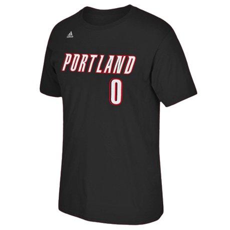 Portland trail blazers damian lillard nba name number t for T shirt printing in portland oregon