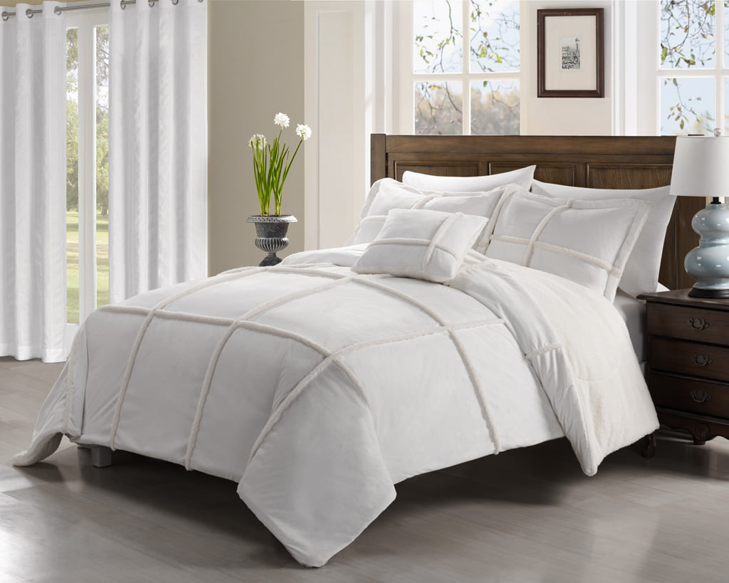 solid black mink home vcny sizes bedding sherpa available shop colors by bargains and off comforter micro multiple set