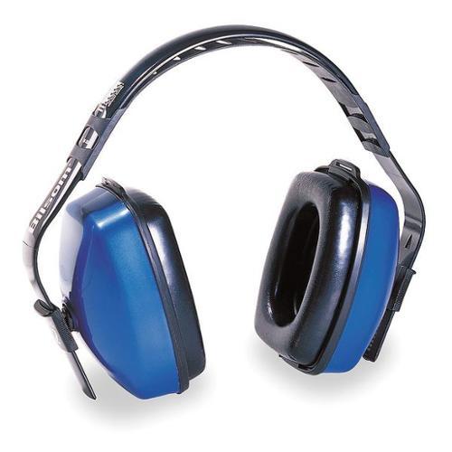 HONEYWELL HOWARD LEIGHT Ear Muff,27/25/25dB,Multi-Position,Blue, 1010926