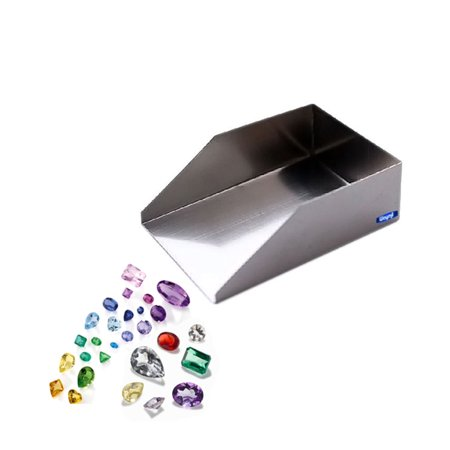 Bead Scoop Diamond Chrome Plated Shovel Gemstones & Seed Beads Jewelry Hand Tool