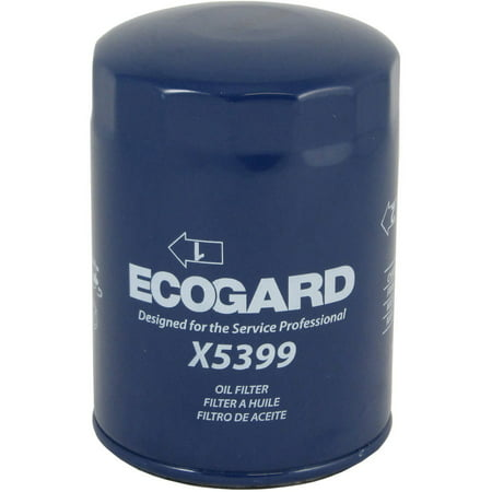 ECOGARD X5399 Spin-On Engine Oil Filter for Conventional Oil - Premium Replacement Fits Chevrolet Silverado 2500 HD, Silverado 3500 HD, Silverado 3500, Express 3500, Express 2500, C4500 Kodiak Chevrolet Silverado 2500 Replacement