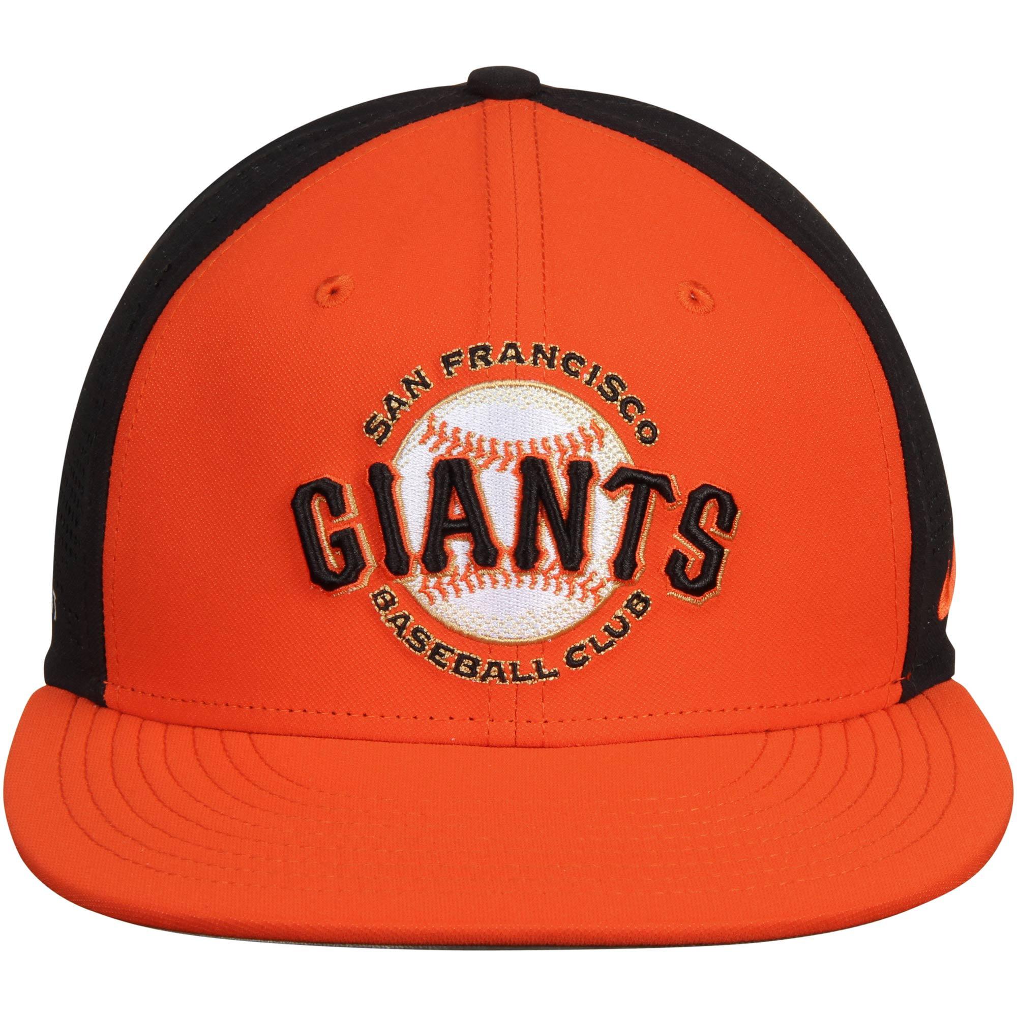 9054c240d14 San Francisco Giants Nike True Vapor Swoosh Performance Flex Hat -  Orange/Black - Walmart.com