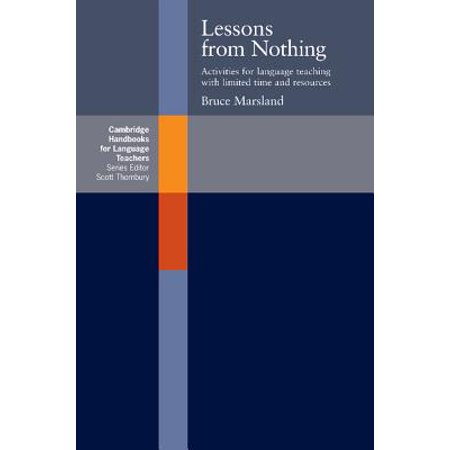 Lessons from Nothing : Activities for Language Teaching with Limited Time and Resources - Halloween Lessons For Teaching