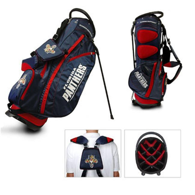 Team Golf 14128 NHL Florida Panthers Fairway Stand-Carry Bag 14 Way