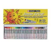 Sakura Cray-Pas Junior Artist Oil Pastels, Creamy Blendable Set of 25
