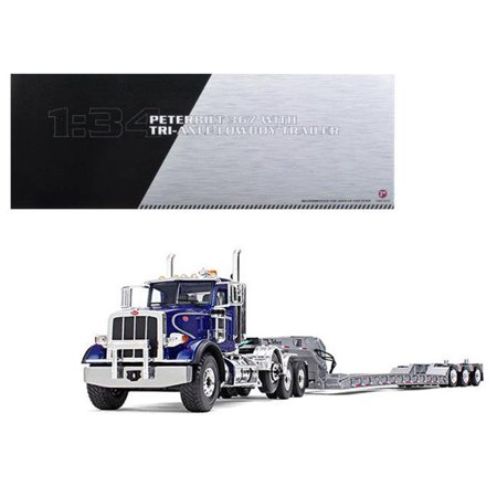 First Gear 10-4071 1-34 Peterbilt 367 Diecast Model with Tri Axle
