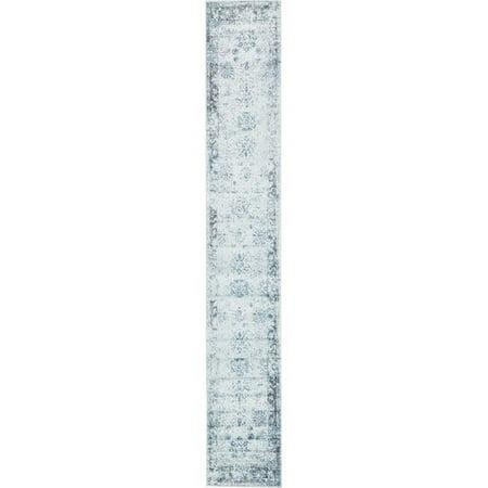 a0001cb9f Mistana Brandt Light Blue Ivory Area Rug - Walmart.com