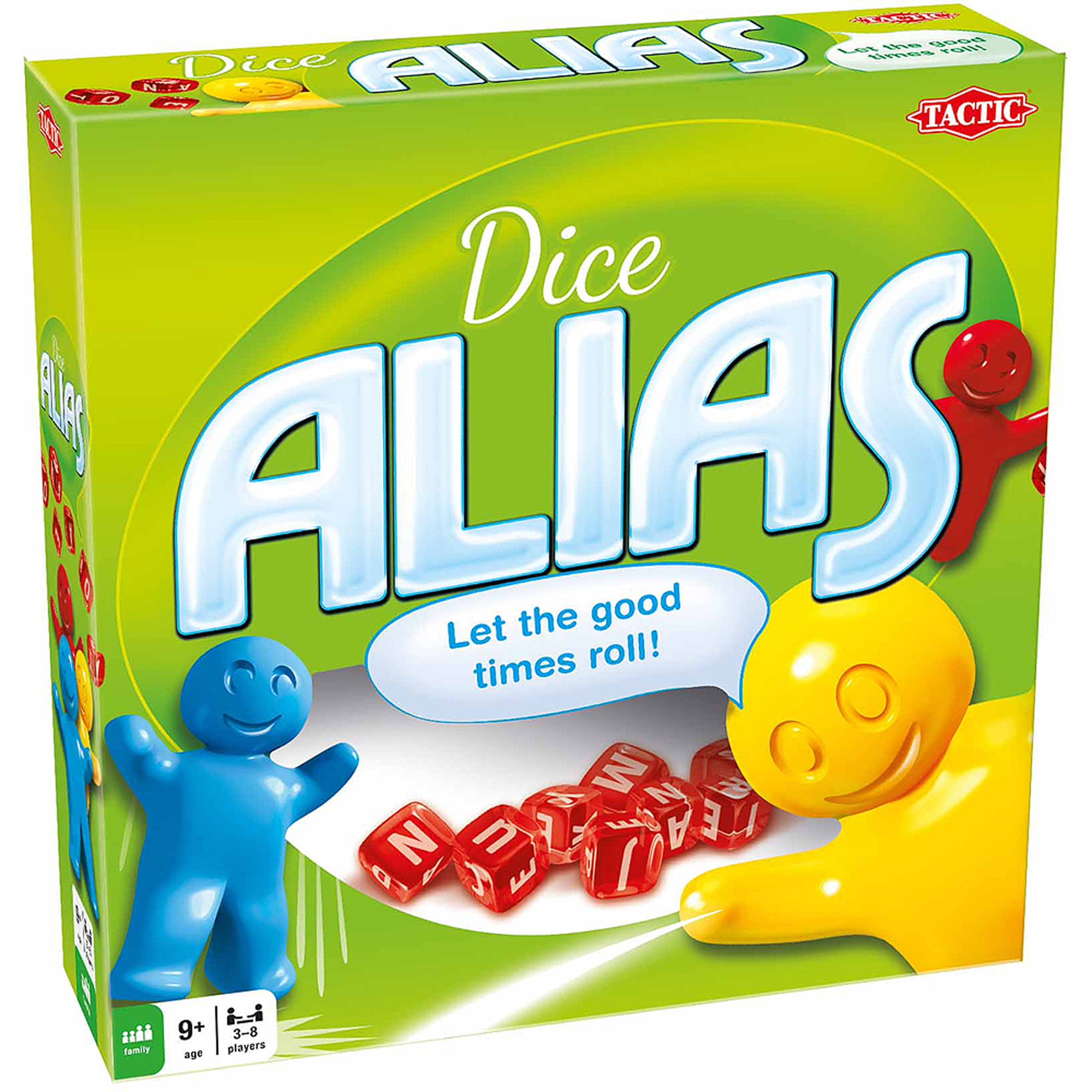 Tactic Games Dice Alias Board Game by Tactic Games