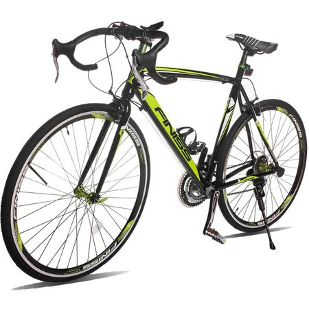 Merax Finiss Aluminum 21 Speed 700C Road Bike Racing Bicycle Shimano -  0690821857489