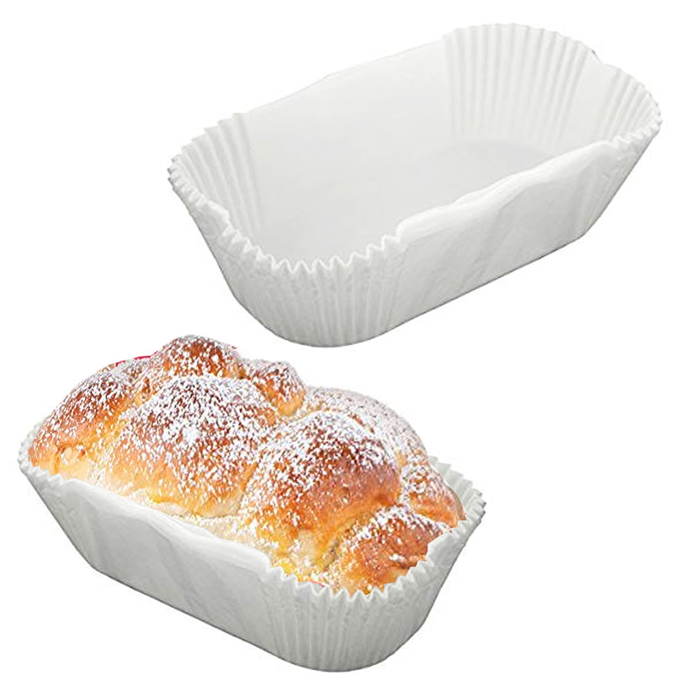 20 x 1.5 lb Grease Proof Loaf Tin Liners Cake Paper Non Stick Baking Case Bread