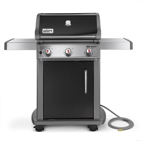 Weber Spirit E-310 Natural Gas Grill, Black ()