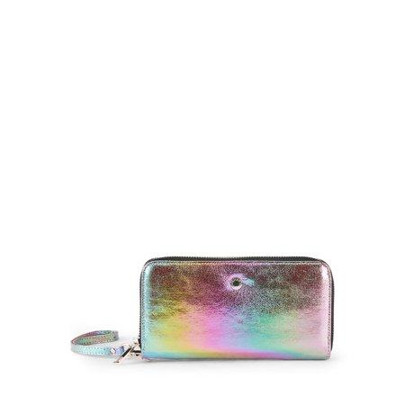 BCBGeneration Kalina Zip-Around Wristlet Wallet ()