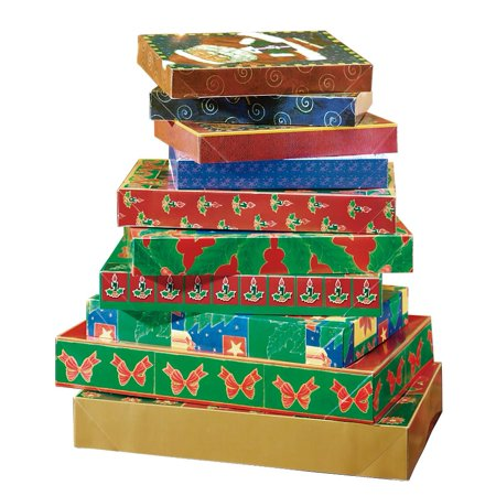 Christmas Gift Box Assortment - Christmas Box Ideas