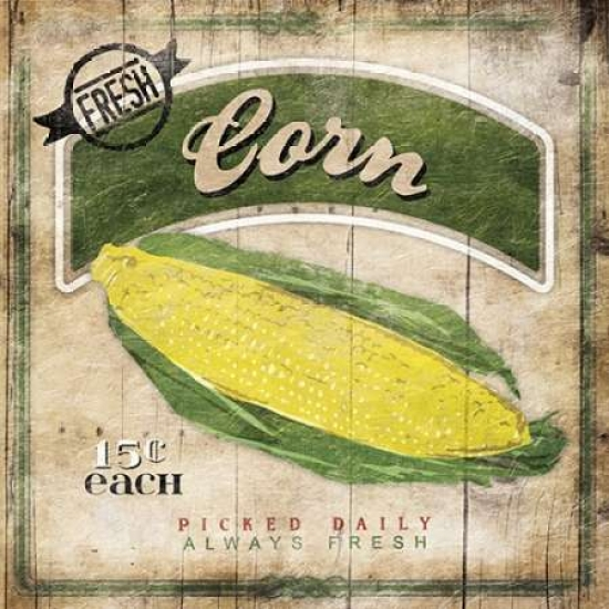 Corn Poster Print by Jace Grey