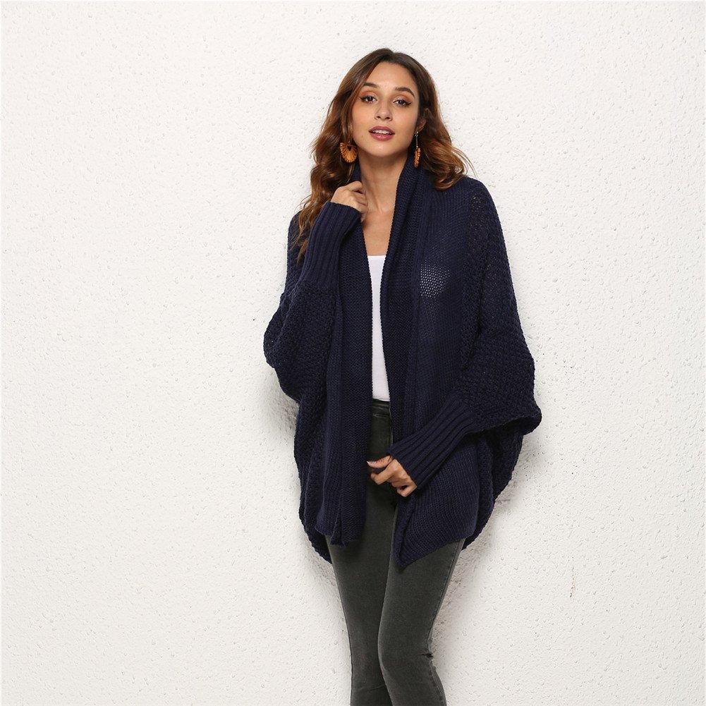 Women Casual Knitted Sweater Coat Long Sweater Cardigan Cardigan Coat Winter Clothes Autumn Women Long Sleeve