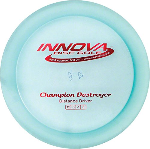 Destroyer Champion Golf Disc, Night vary Metal 165169gm Pro Glow Idyed Goal Flashflight DX... by