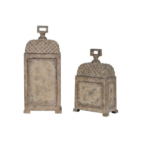 Crestview Collection Aberdeen Boxes (Set of 2)