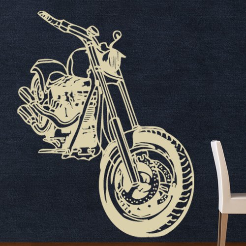 Style and Apply Motorcycle Wall Decal