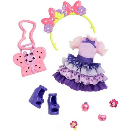 Kuu Kuu Harajuku Butterfly Blooms Fashion Pack - Harajuku Barbie