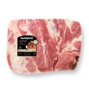 Smithfield Fresh Pork Shoulder Butt Roast Boneless, 4.7-6.7 lb