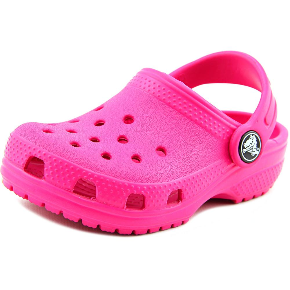 Crocs Classic Clog K Round Toe Synthetic Clogs by Crocs