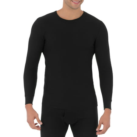 Fruit of the Loom Mens Classic Crew Top Thermal Underwear for Men Cold Weather Polypropylene Underwear Top