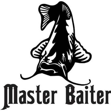 Custom Decal Master Baiter Catfish Animal - Kids Boys Bed Room 16