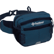Outdoor Products Echo WaistPack Fanny Pack Waist Bag, Denim