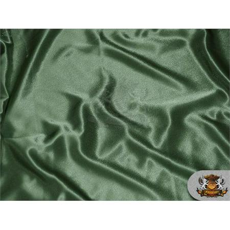 (Satin Crepe Solid Fabric SAGE / 60