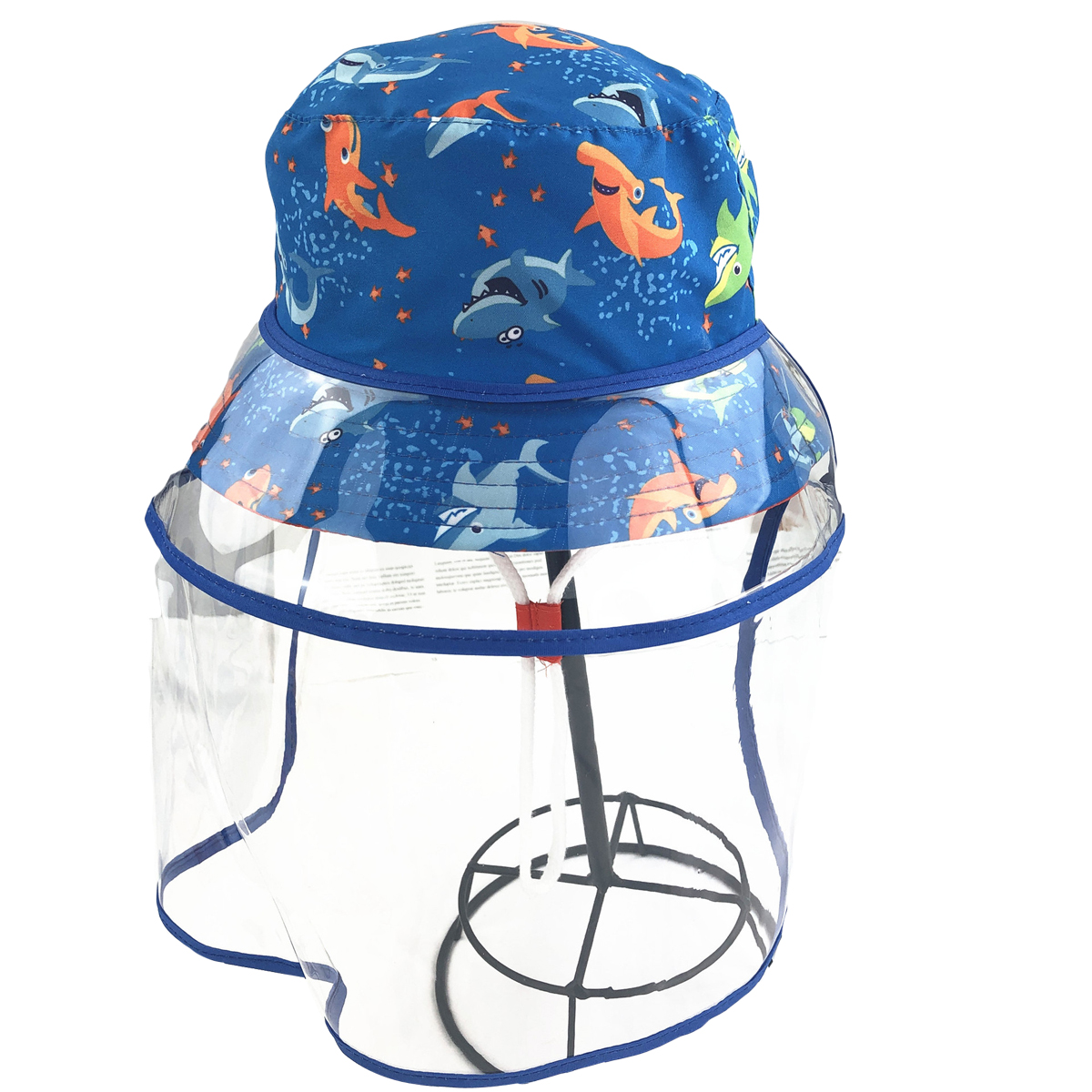Anti-saliva Wide Brim Bucket Cap for 0-2 Years Old for Outdoor Anti shade JIAYUAN Kids Hat with Shield Baby Sun Hat with Face Shield Detachable UV Clear Visor