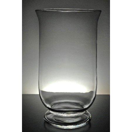 12 Inch Glass Hurricane Vase Candle Holder Walmart