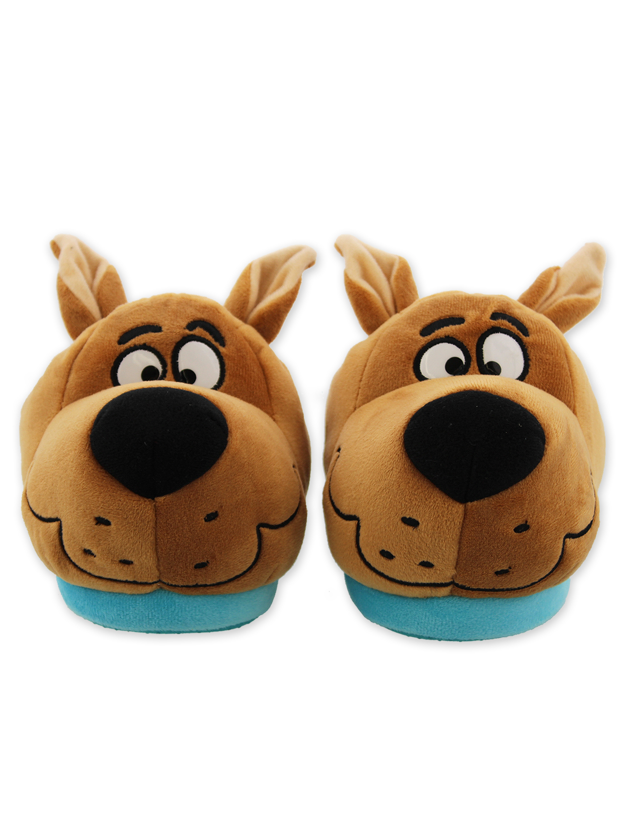 Scooby Doo Boys Toddler Plush Slippers