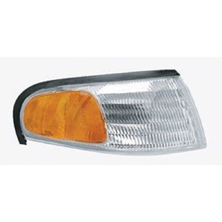 Go-Parts OE Replacement for 1994 - 1998 Ford Mustang Parking Light Assembly / Lens Cover - Right (Passenger) Side F4ZZ 13200 A FO2521125 Replacement For Ford Mustang ()