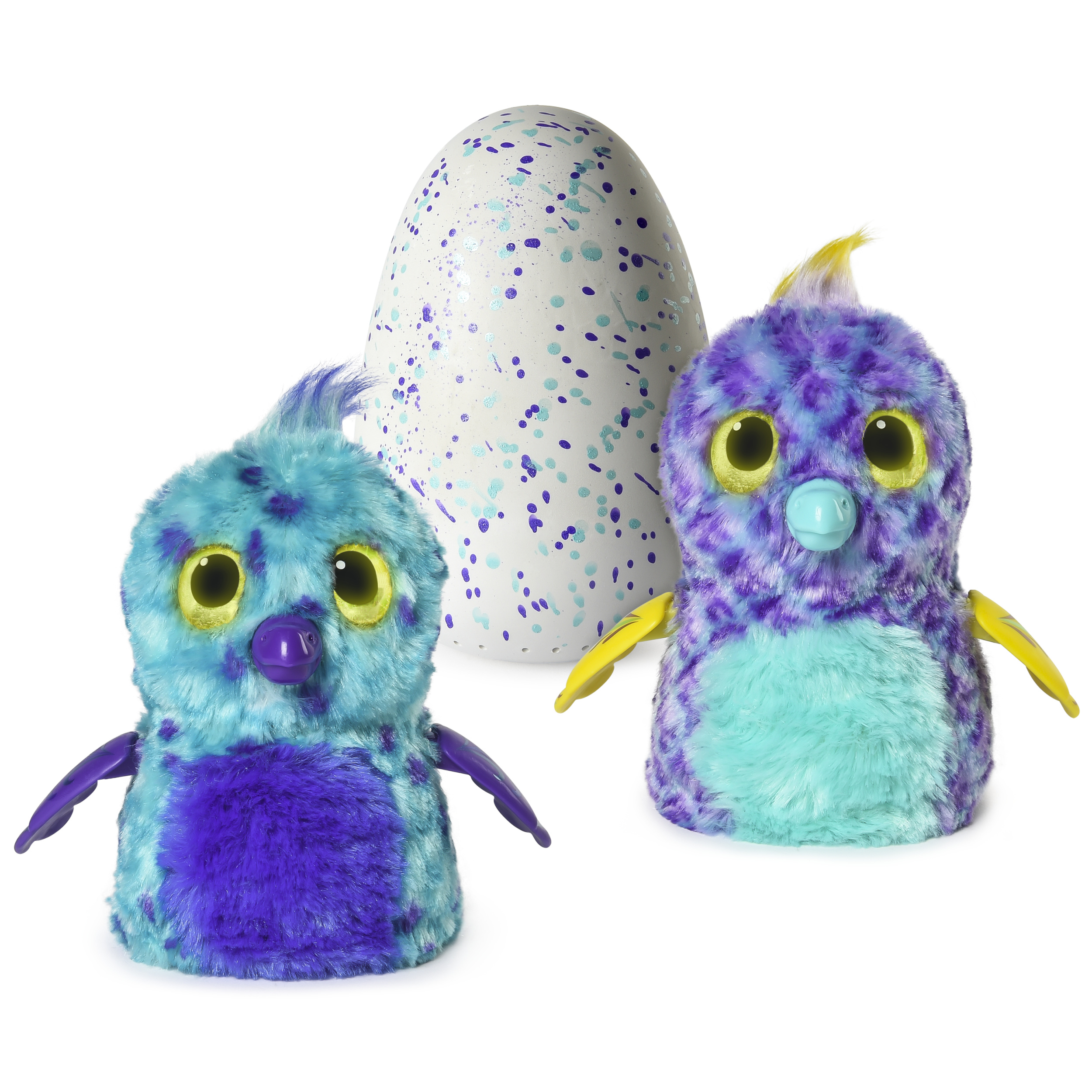 Hatchimals Fabula Forest, Hatching Egg with Interactive Puffatoo by Spin Master (Styles and Colors May Vary)