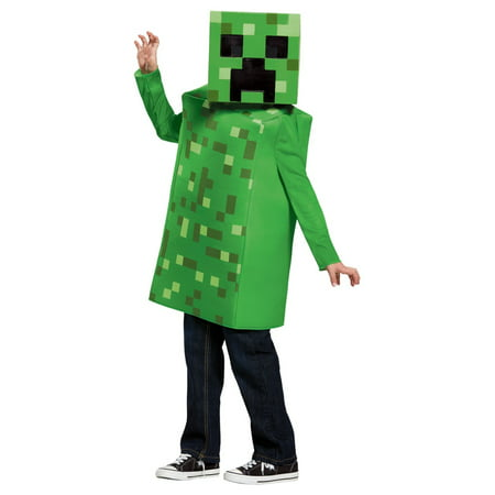 Minecraft Costume Creeper (Boys Minecraft Creeper)