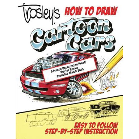 Trosley's How to Draw Cartoon Cars (Draw Funny Halloween Cartoons)