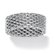Mesh Ring in Stainless Steel