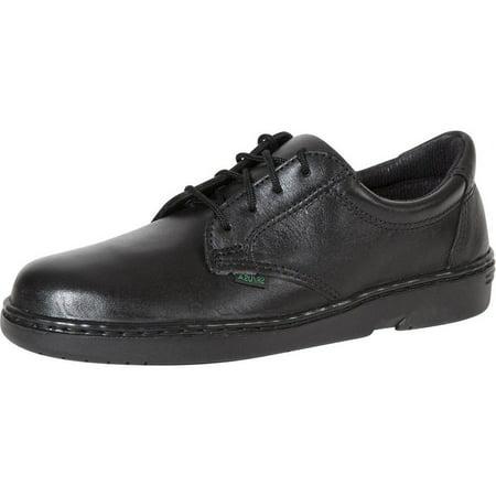 Rocky Work Shoes Womens Flat Sole Oxford SR USA Postal Black