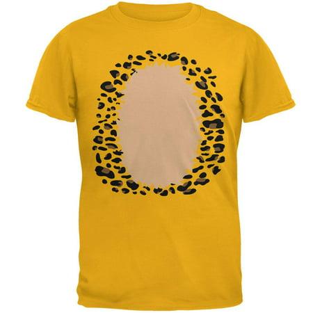 Halloween Leopard Costume Mens T Shirt (Leopard Halloween Accessories)