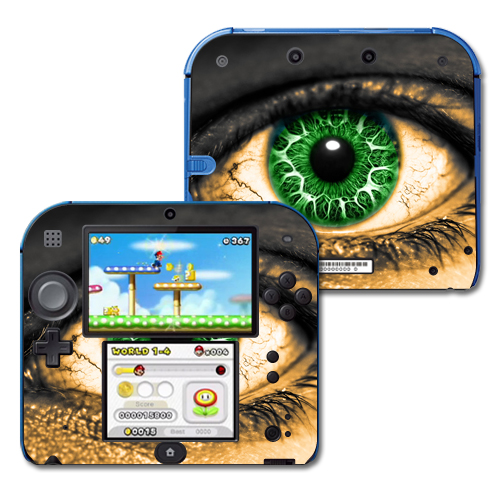 Mightyskins Protective Vinyl Skin Decal Cover for Nintendo 2DS wrap sticker skins Eye On You