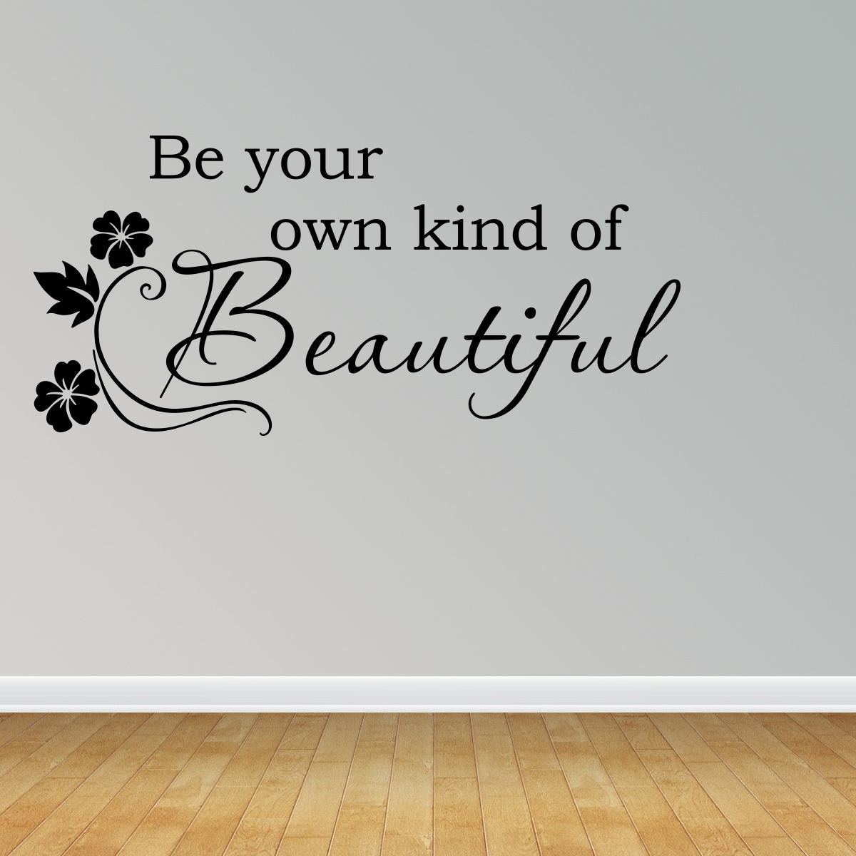 Wall Decal Quote Be Your Own Kind Of Beautiful Peel & Stick Marilyn Monroe R13