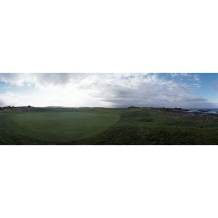 Turnberry Golf - Golf Course on a Landscape, Turnberry, South Ayrshire, Scotland Print Wall Art By Panoramic Images