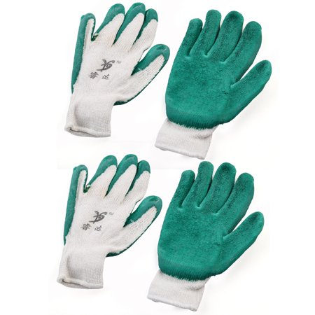 Industry Construction Latex Rubber Non Slip Knitted