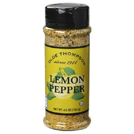 Olde Thompson 1700-04 Lemon Pepper 4.2-Ounce
