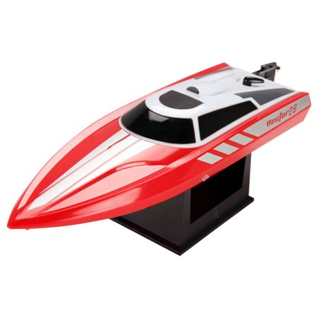 POCO DIVO 2.4Ghz Vector28 Pool Racer RC 20mph High Speed Boat Radio Control Mini Racing Yacht,