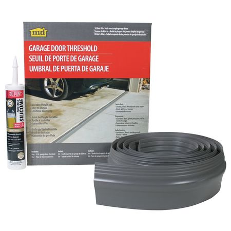 5MFH0 Garage Door Threshold Kit, Smooth/Fluted